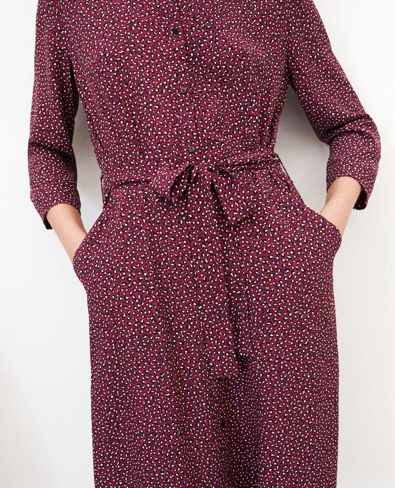 Robe chemise Burgundy Gabriela