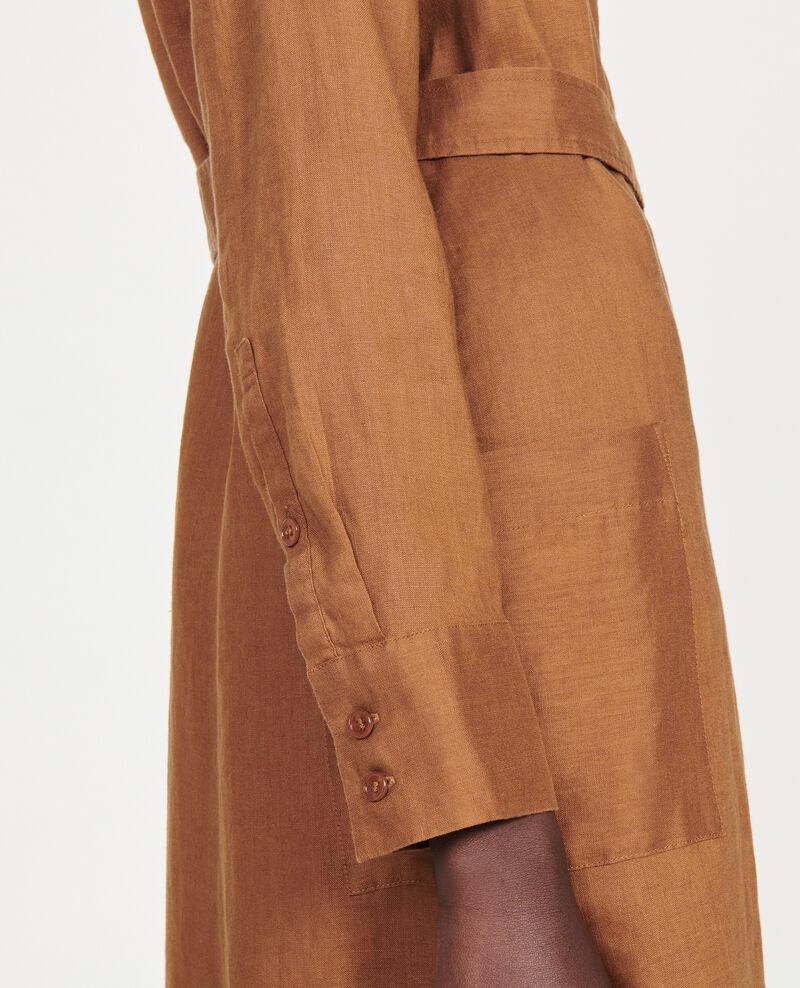 Robe chemisier en lin Monks robe Lesprit