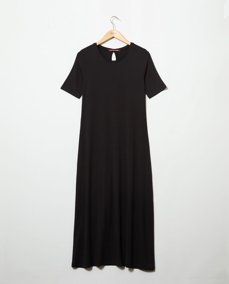 Robe en matière t-shirt Noir Ifornia