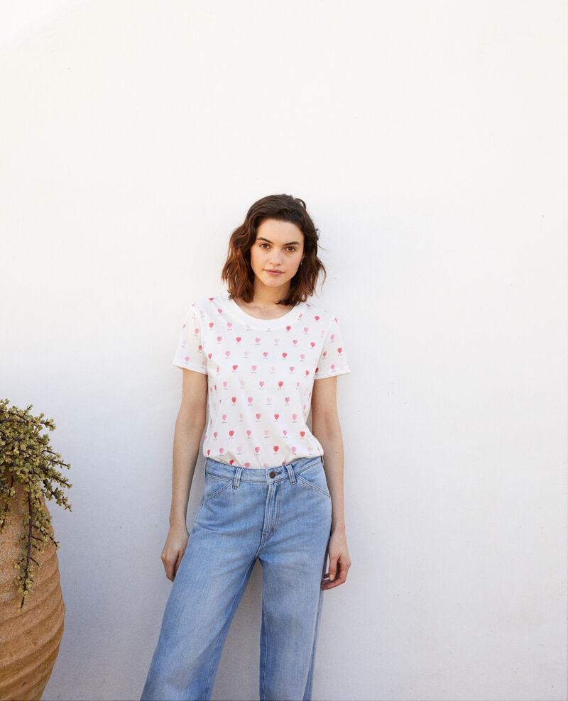 T-shirt imprimé cœur Off white Ired