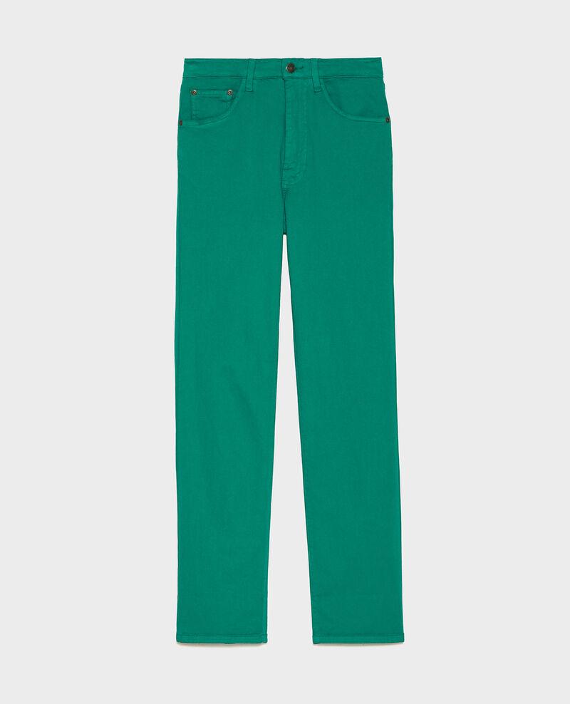 SLIM STRAIGHT - Jean coupe droite Golf green Lozanne