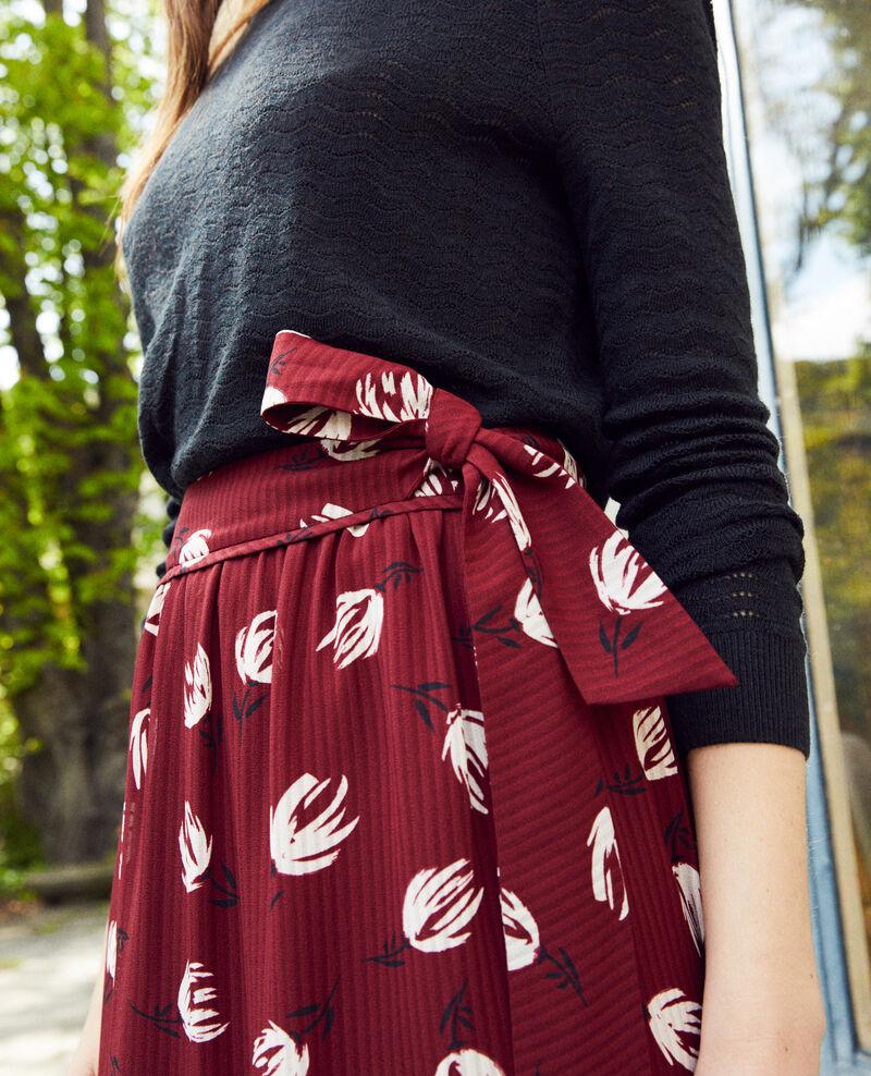 Jupe portefeuille Tulip cabernet Jaude
