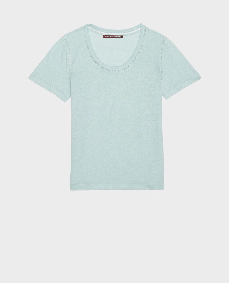 T-shirt en lin Blue haze Lye