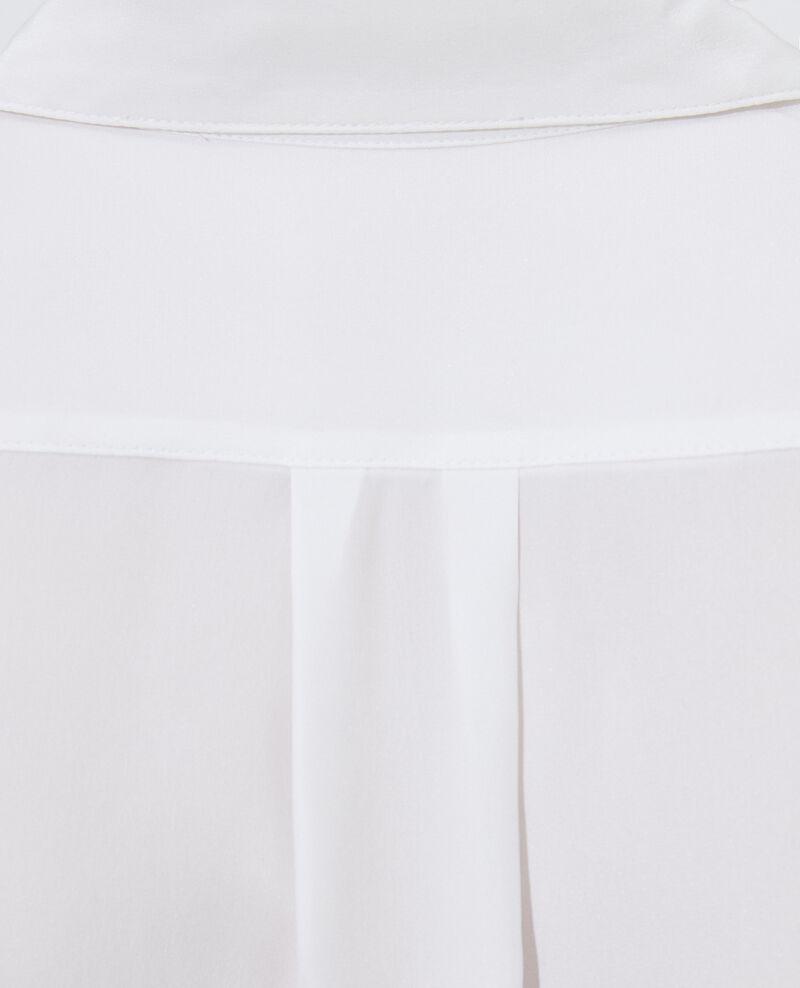 SIBYLLE - Chemise en soie Optical white Loriges