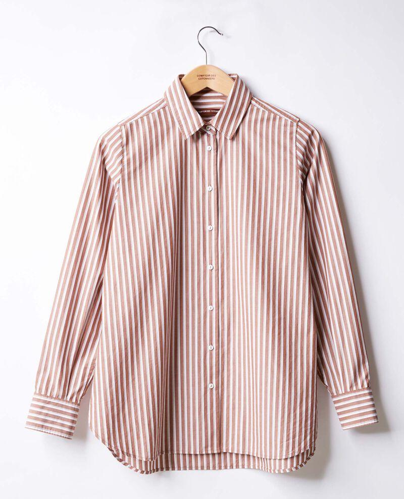 Chemise oversize rayée Auburn stripes Fregate