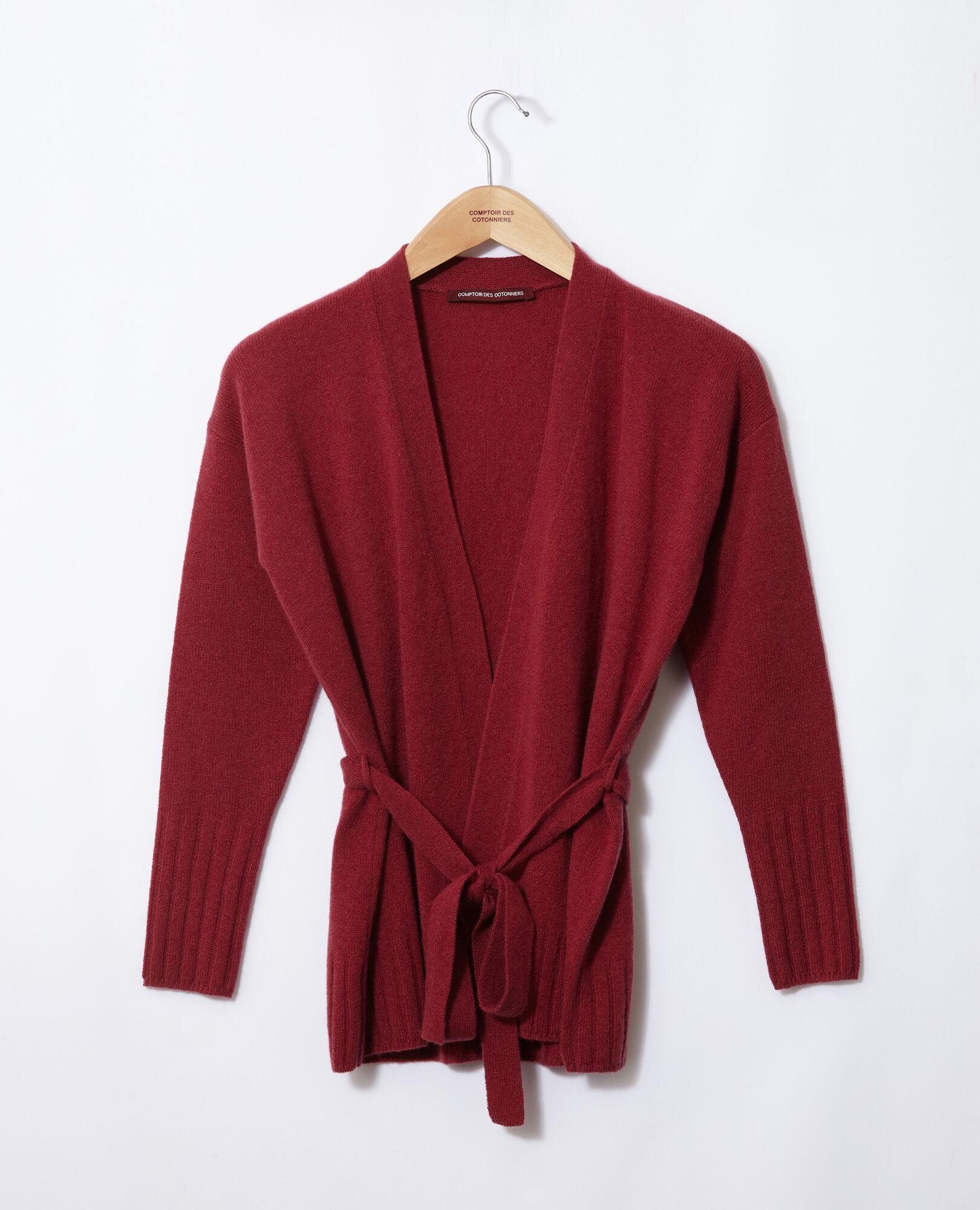 Cachemire Cache Femme Cœur Germain Rouge En Gilet Des Comptoir 16pqZp 1990b75f333