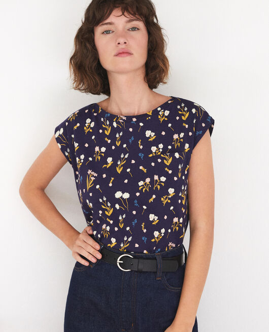 T-shirt en coton SM PEACOAT