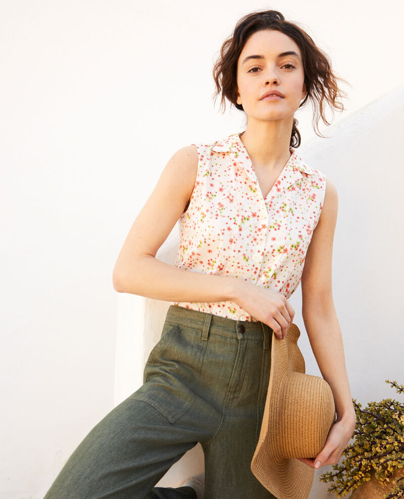 Chemise sans manches en coton Primula ow Imula
