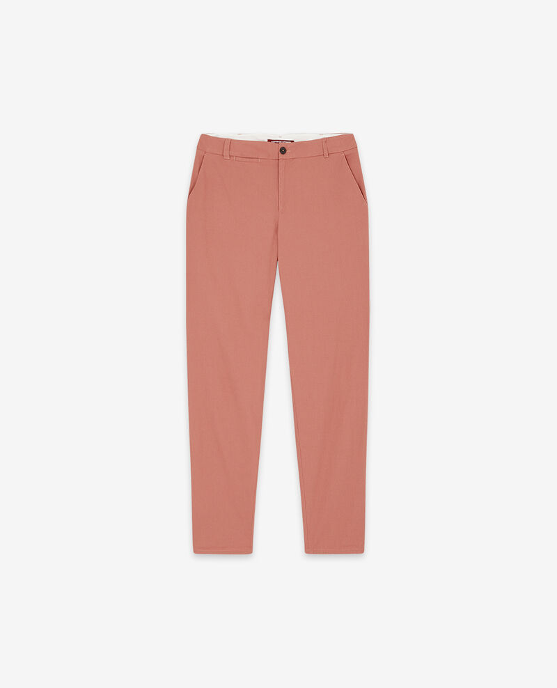 Pantalon chino Rose clay Different