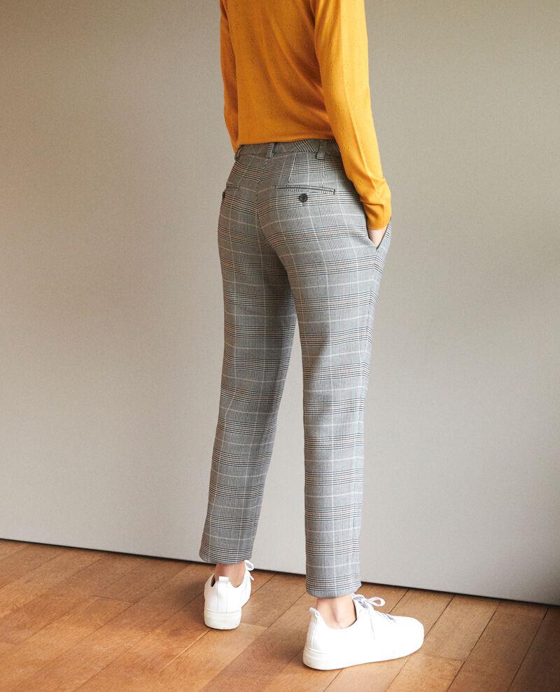 Pantalon coupe droite Noir Grace