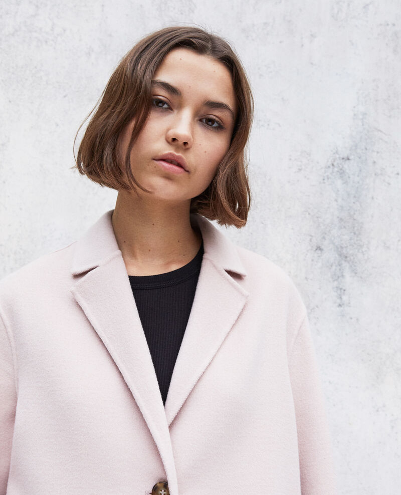 Manteau double face Pink icing Irelie