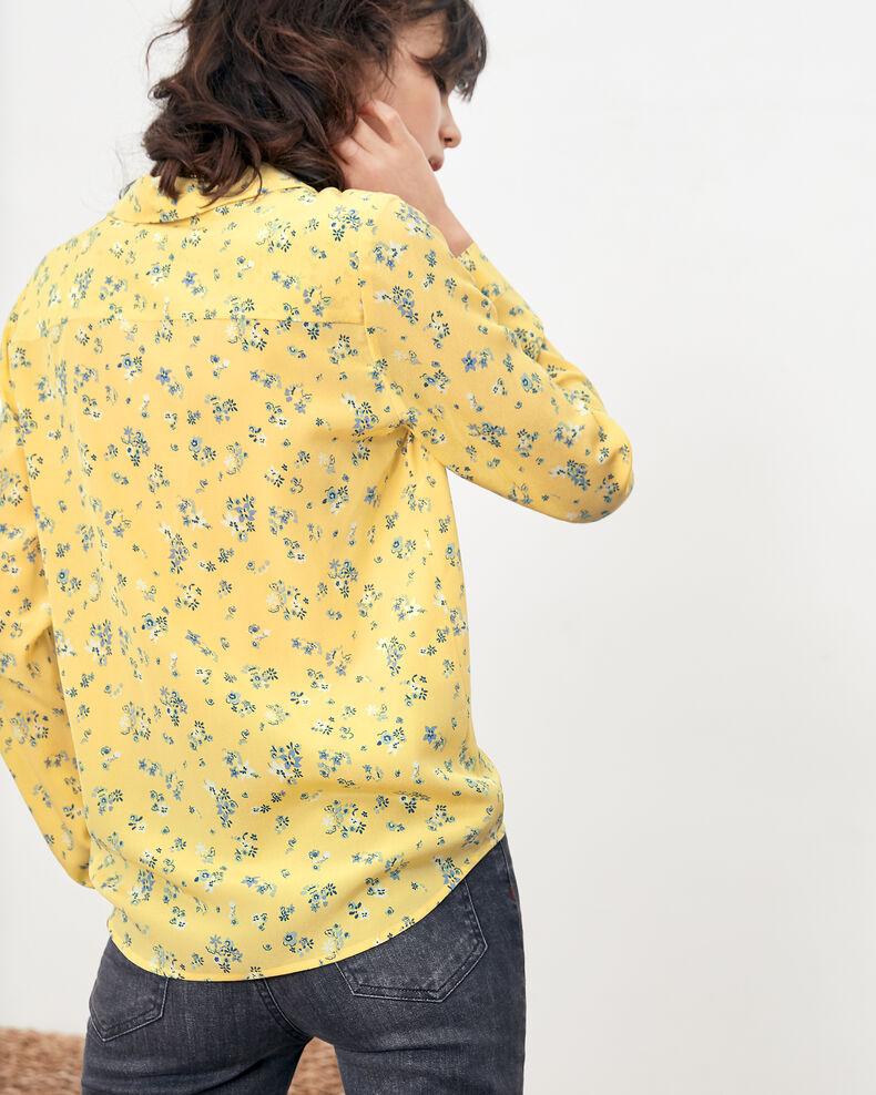 Chemise en soie imprimée Lillybell lemon Follower