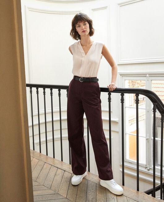 Pantalon coupe ample DECADENTE CHOCOLATE