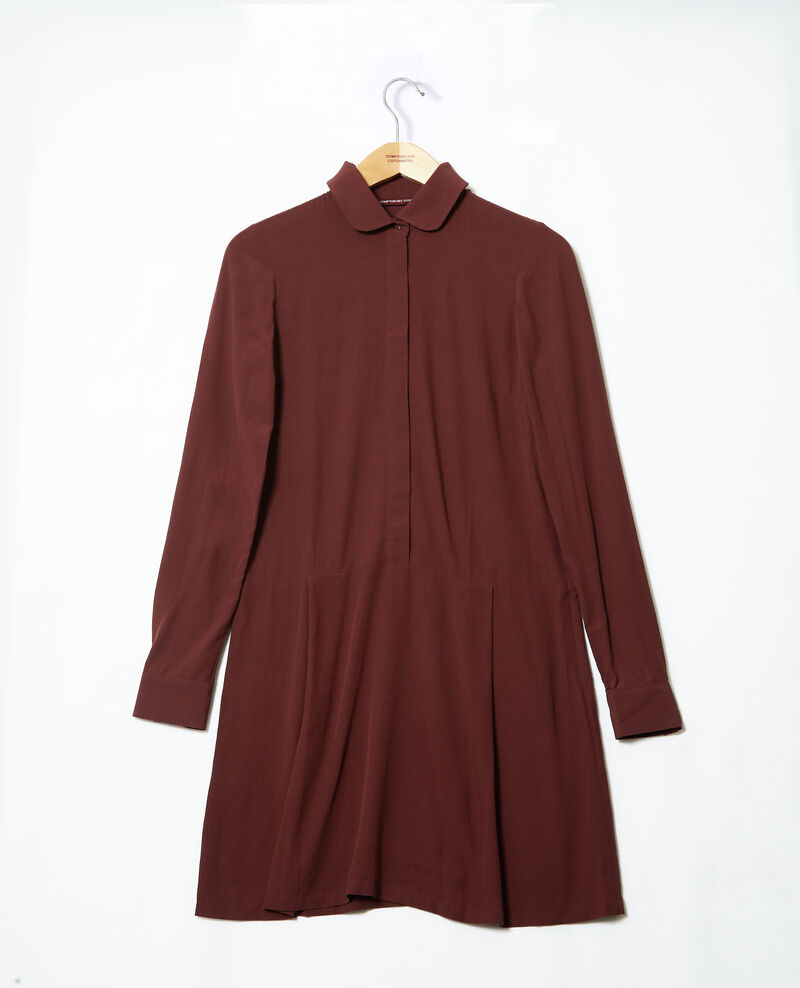 Robe coupe droite Decadente chocolate 9giorgo