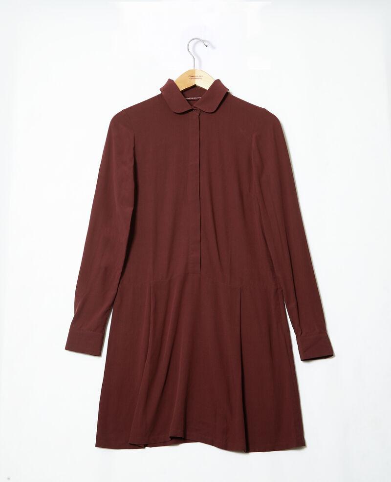 Robe coupe droite Decadente chocolate 9giorgo