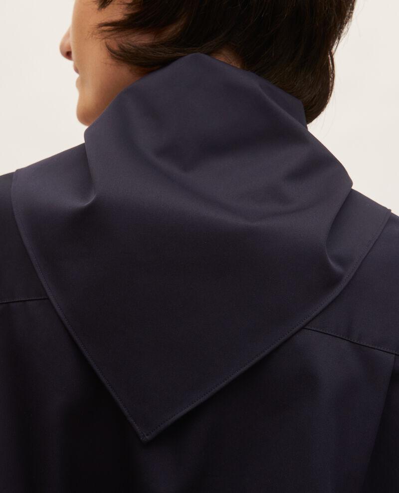 Blouse en coton à col foulard amovible Night sky Manosque