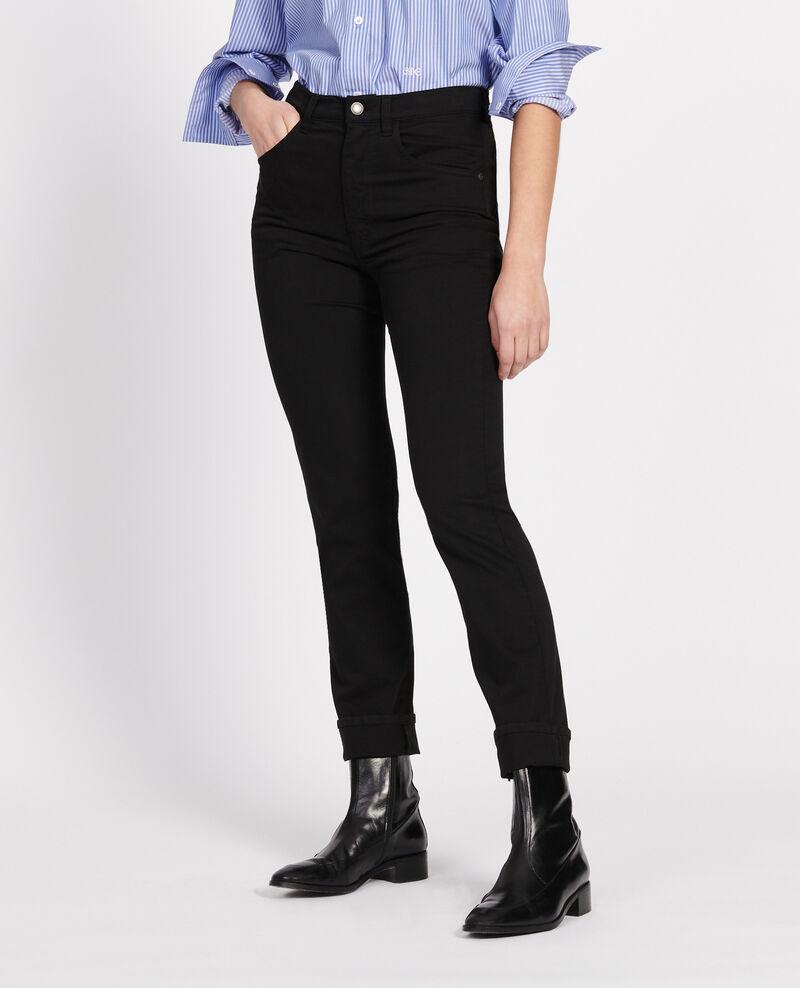 Jean coupe droite Black beauty Lozanne