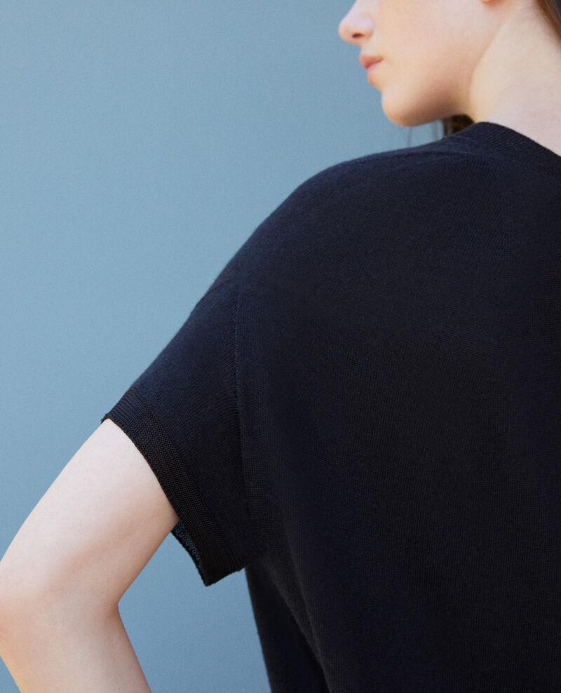 Robe en maille 3D Noir Gedith