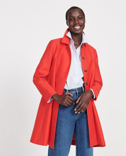 Manteau d'été en coton FIERY RED