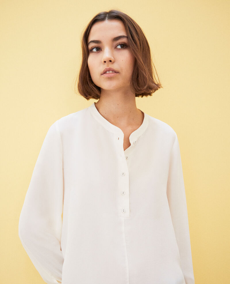Blouse en soie Off white Innocent