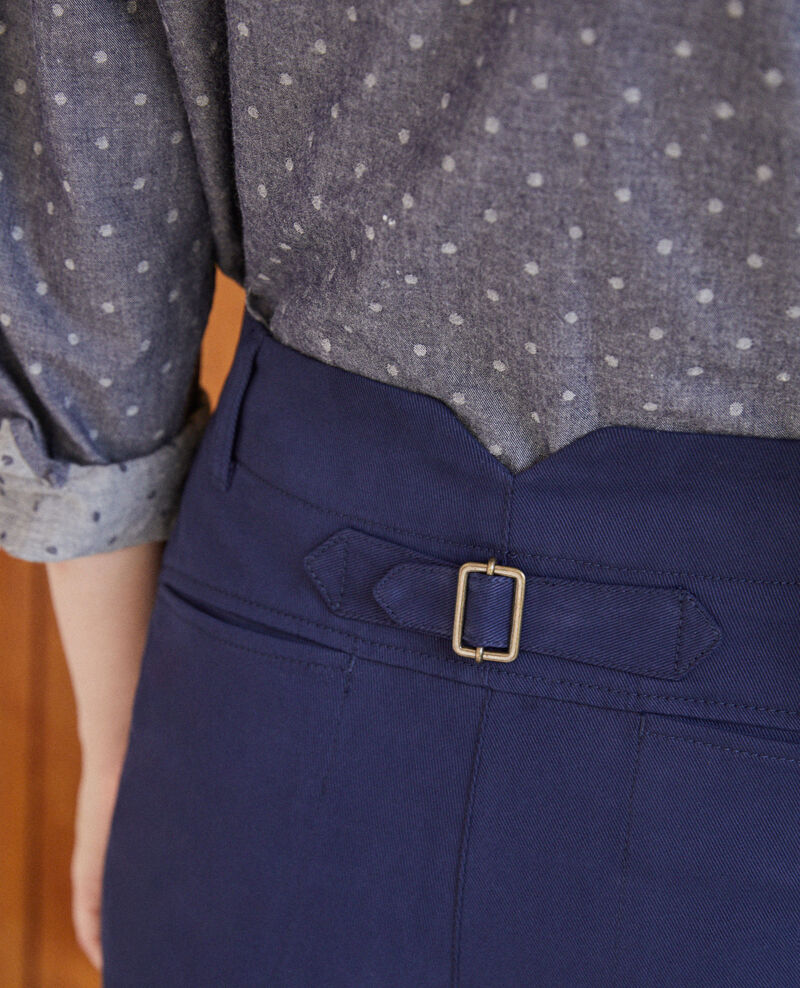 Pantalon chino Peacoat Gabini