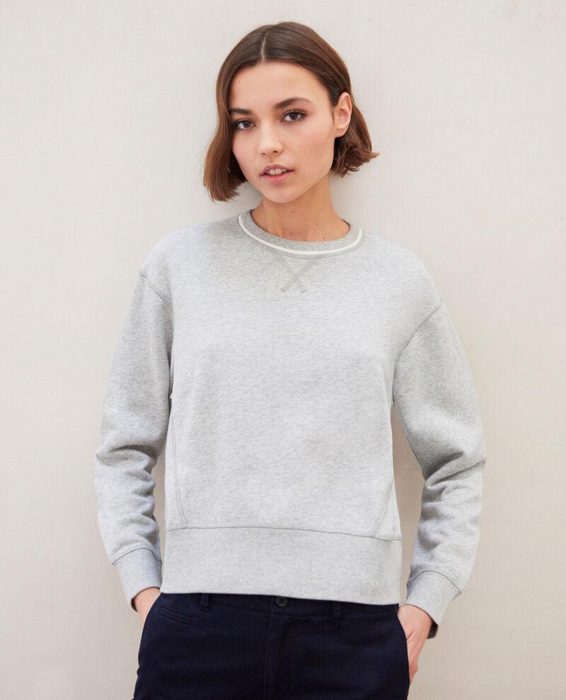 Sweatshirt lifewear Heather gr/ow Indie