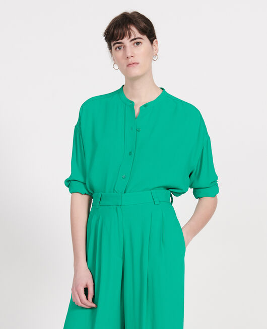Blouse ample en viscose GOLF GREEN