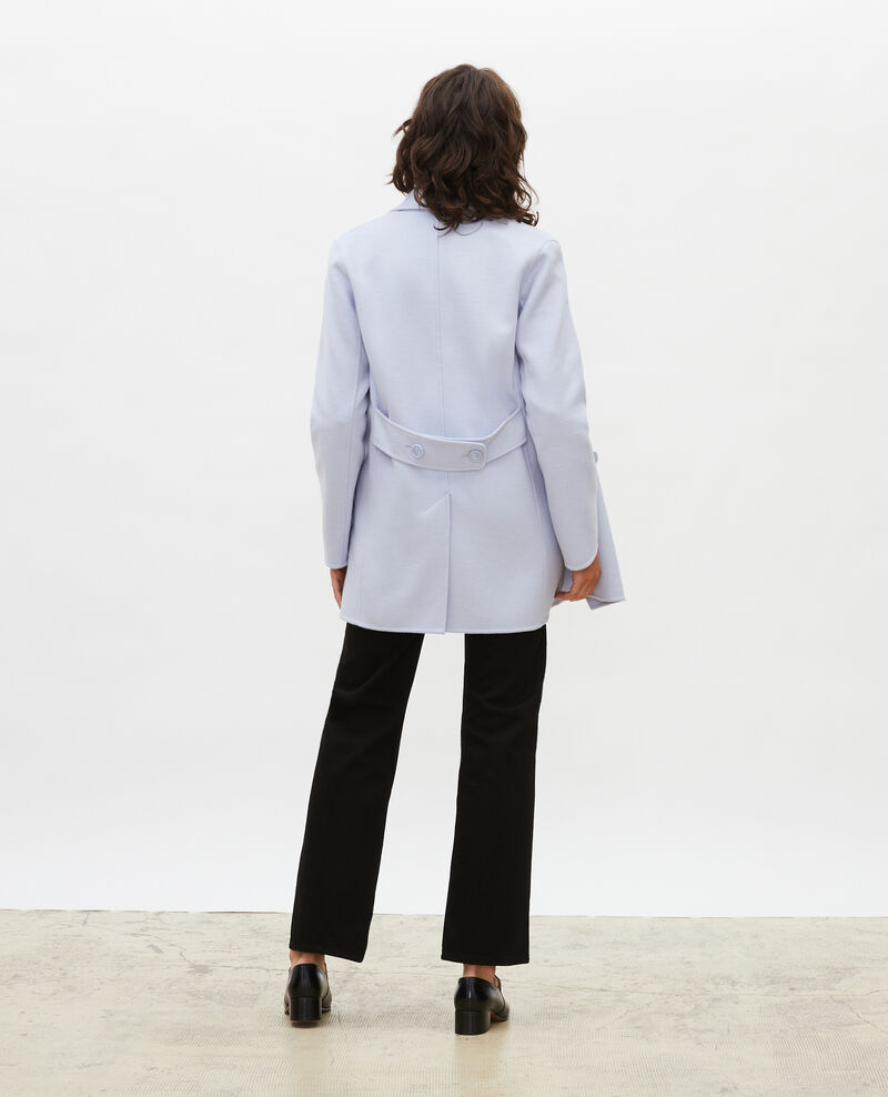 Manteau caban en lainage double face Heather Lintot