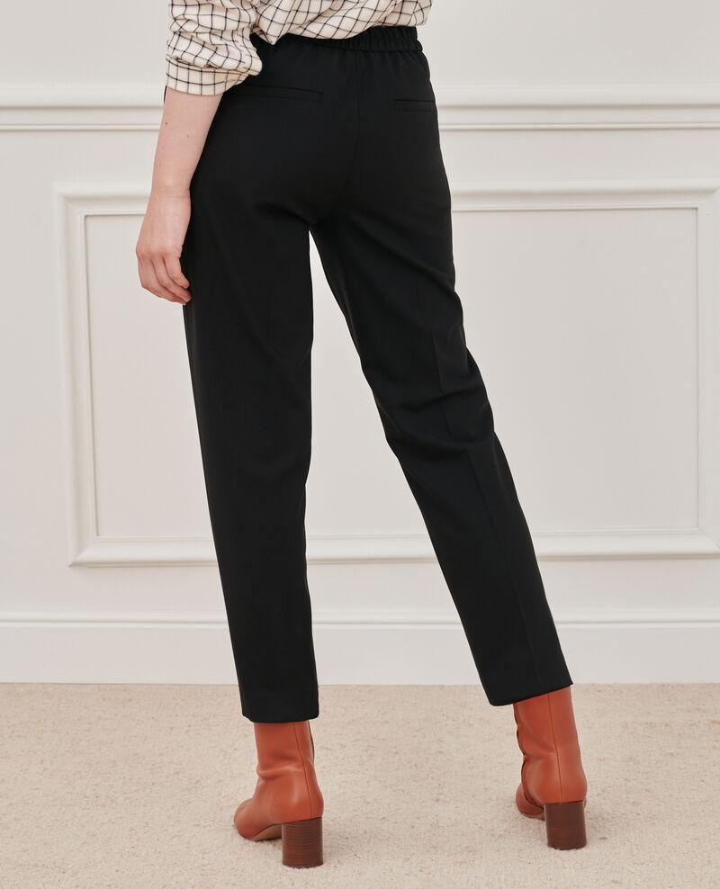 Pantalon MARGUERITE, 7/8e ajusté Black beauty Nokeasy