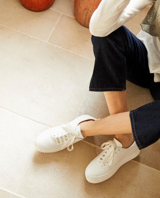Sneakers à plateforme  BLANC