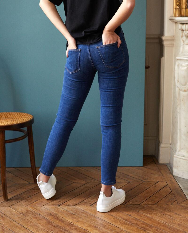Jean skinny cropped 7/8 Vintage indigo Ginisko