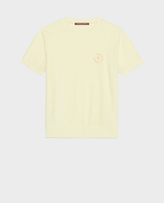 T-shirt en coton TENDER YELLOW