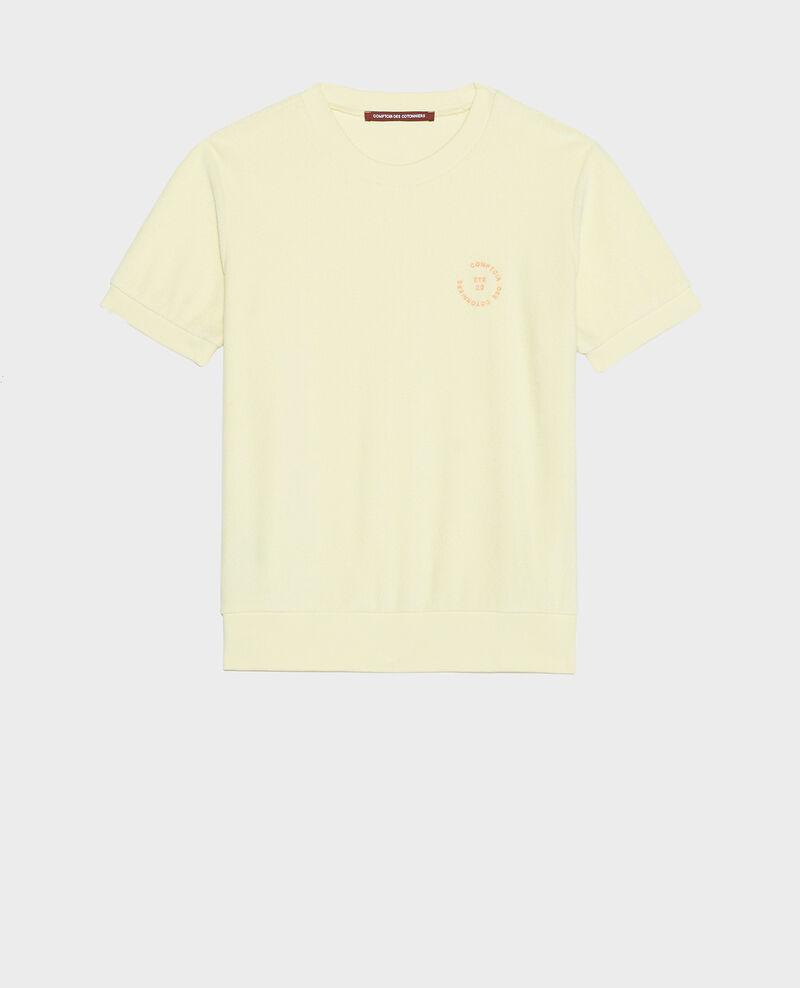 T-shirt en coton Tender yellow Lis