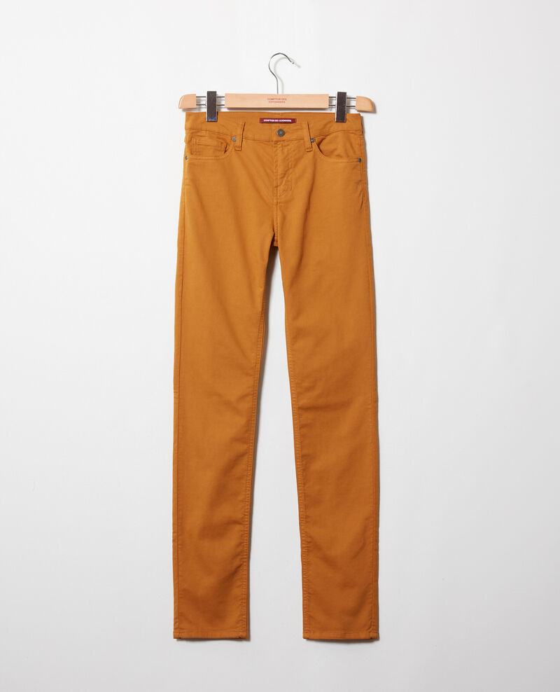 Jean coupe slim Golden brown Jilineto