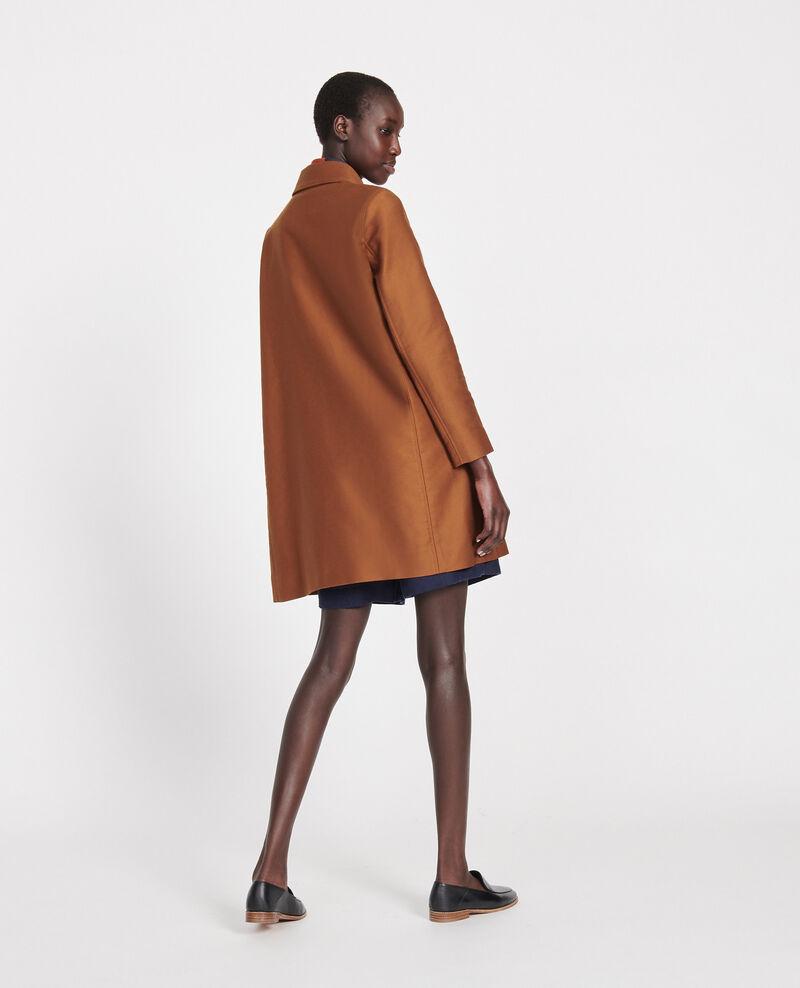 Manteau d'été en coton Marron Loyale