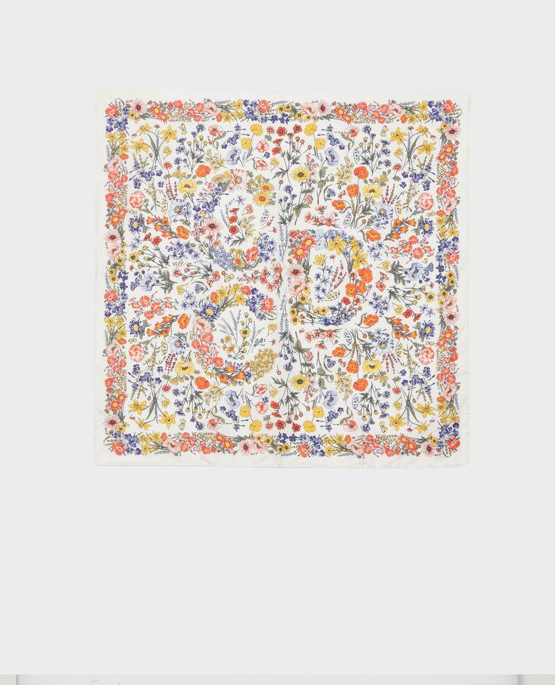 Foulard carré de soie Gardenia Nabis