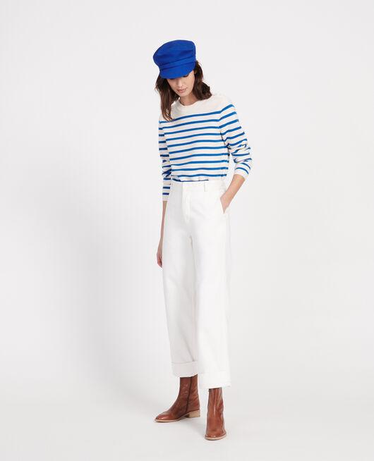 Pantalon de peintre OPTICAL WHITE