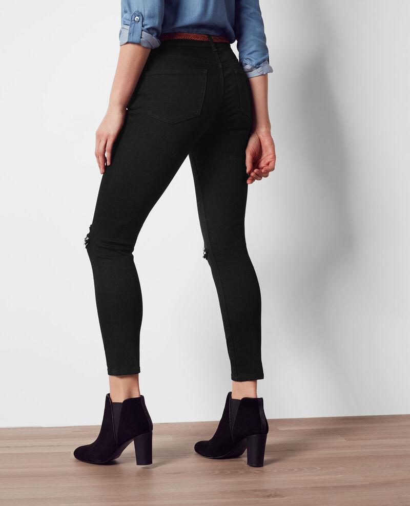 jeans boyfriend femme couleur noir chose comptoir des cotonniers. Black Bedroom Furniture Sets. Home Design Ideas