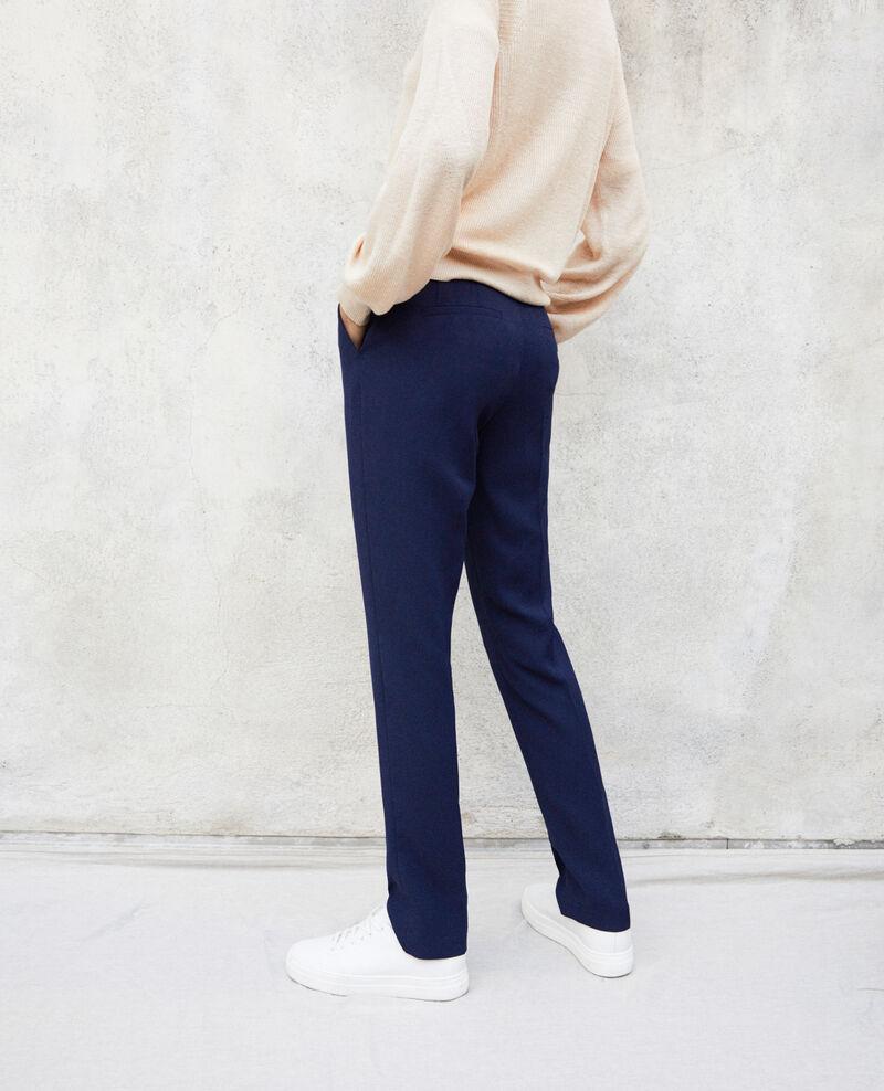 Pantalon coupe carotte Ink navy Itigone