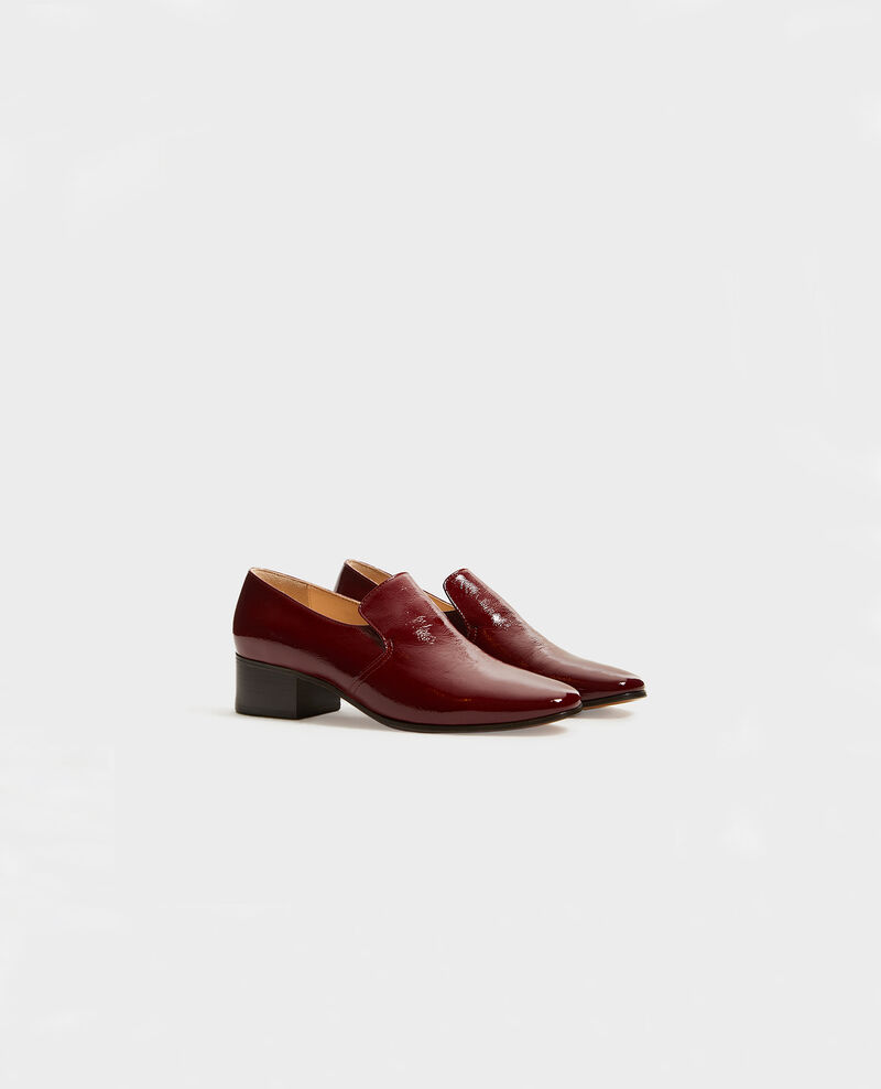 Mocassins en cuir Royale red Meaux