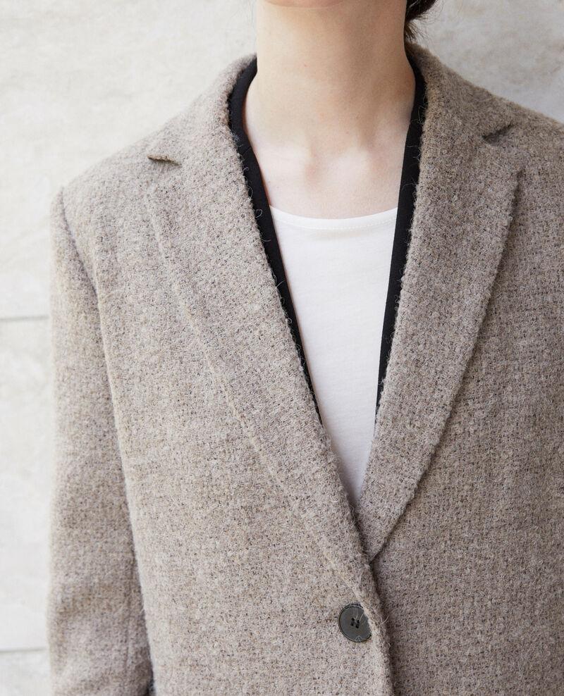 Manteau coupe droite Natural Gitchina