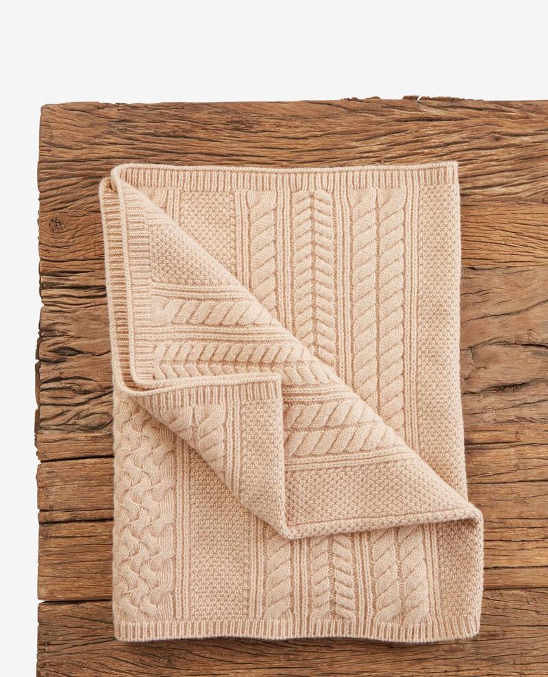 451550d9fc4c Echarpe tube en 100% laine Beige - Dozer   Comptoir des Cotonniers