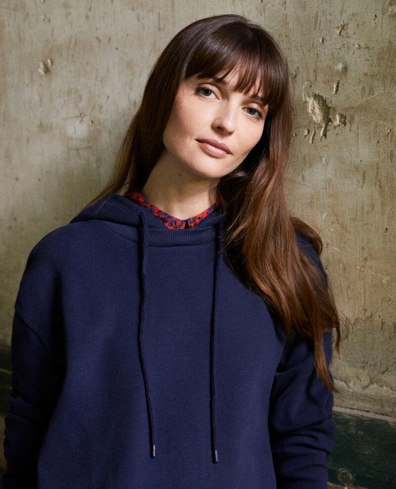 Sweatshirt à capuche Dark navy Jasette