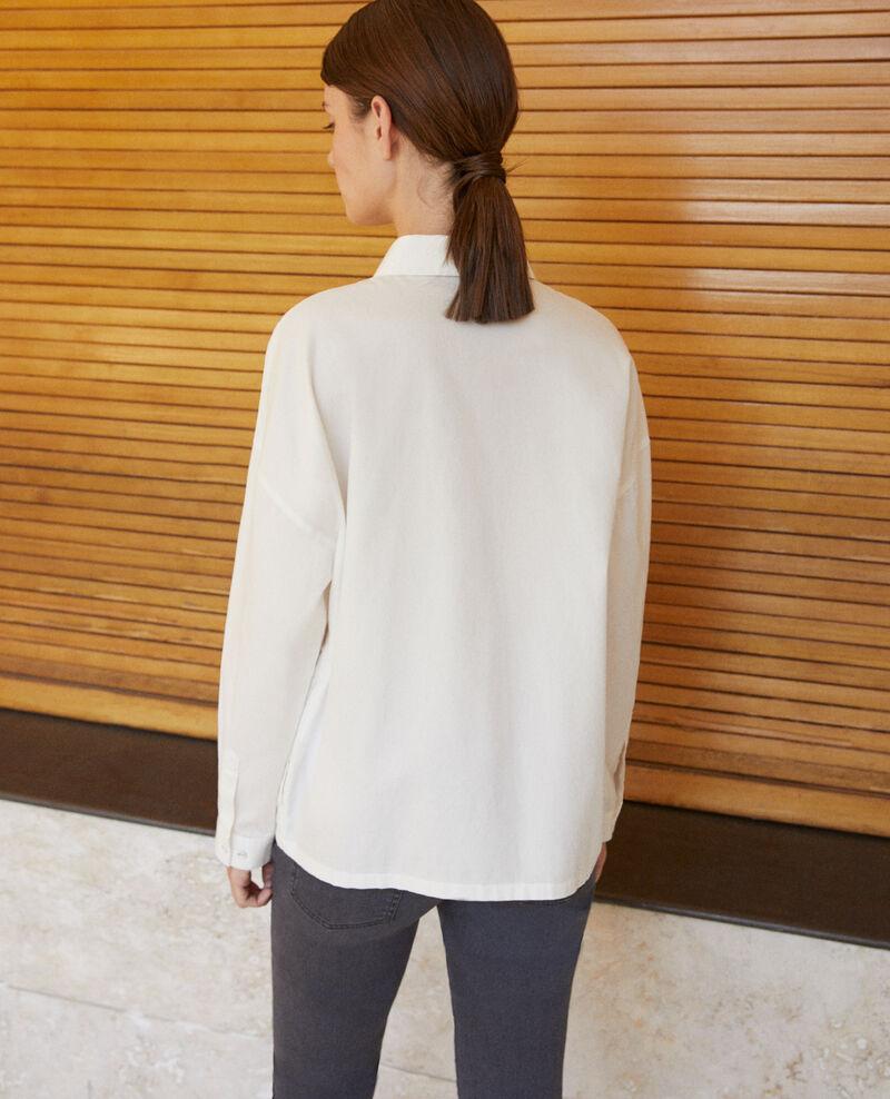 Chemise coupe droite Off white Gorani