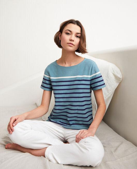 T-shirt marinière BM/NAVY/OW