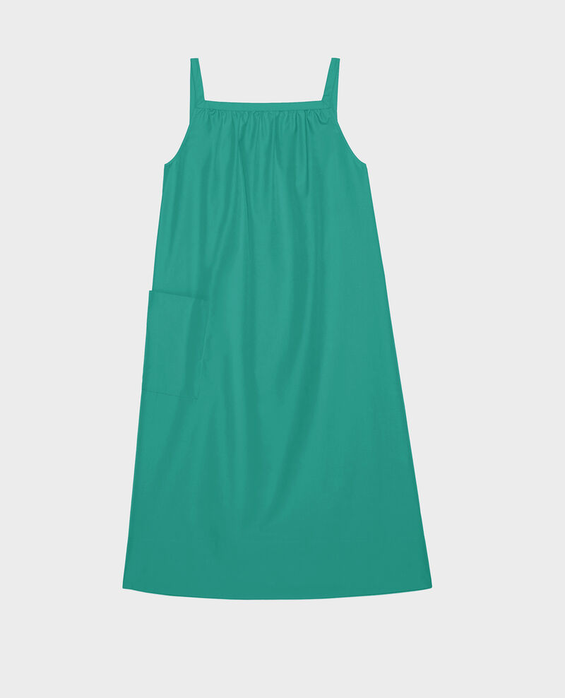 Robe en coton Golf green Lisle