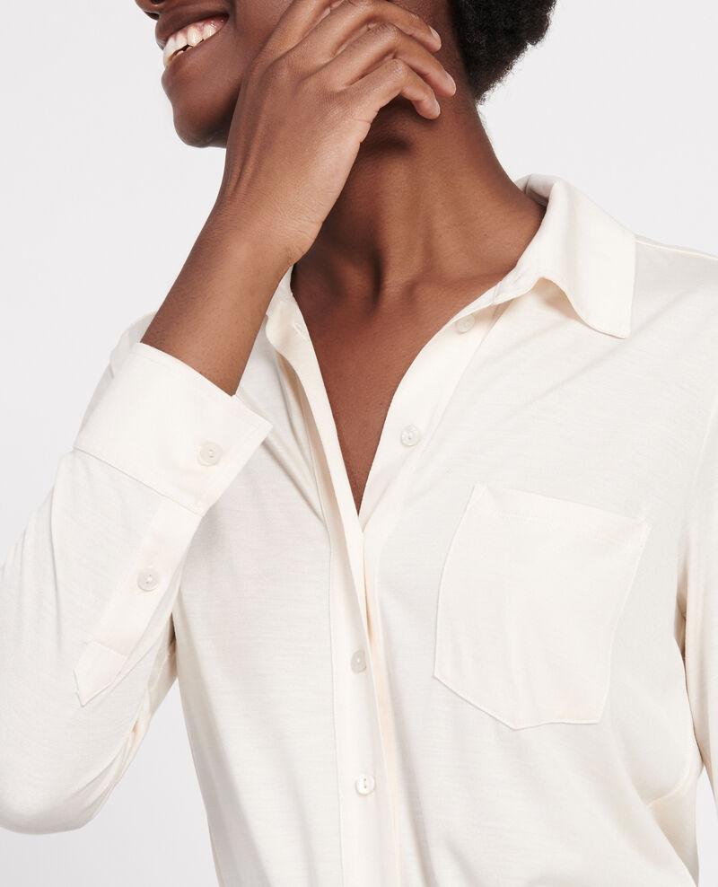 Chemise en jersey de soie Buttercream Leanor