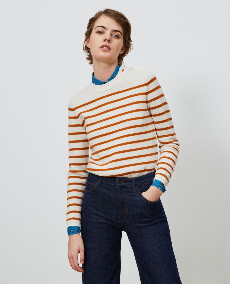 Pull marin en laine Stp_grd_pumkn Liselle