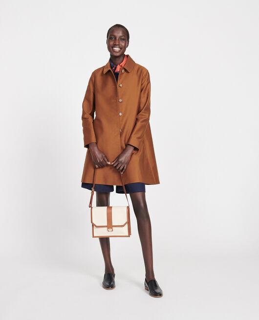 Manteau d'été en coton Marron