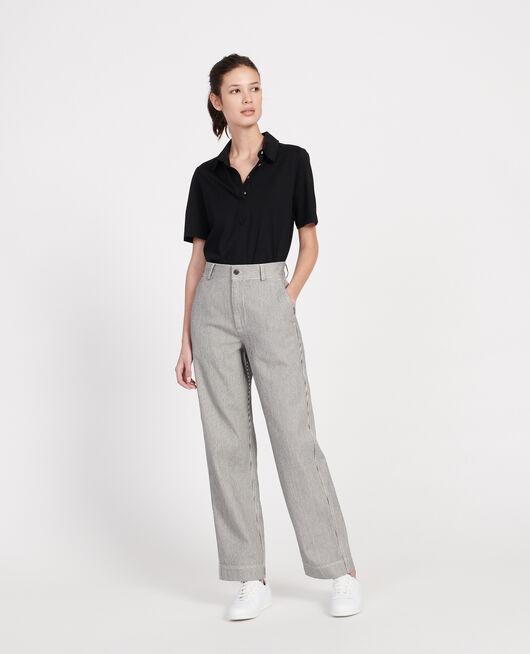 Pantalon de peintre DENIM STRIPES